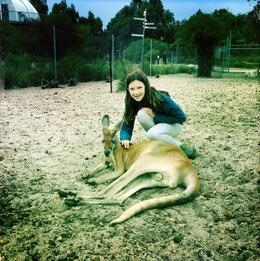 Ella met kangoeroe