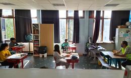 20200515 school Mozaïek schaarbeek corona terug naar school